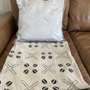 CB2 Pillow Cover & Insert